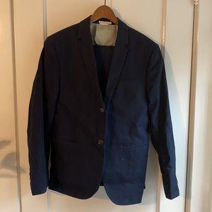 Men's Club Monaco Navy Blue Suit 36 Short